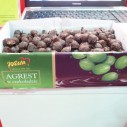 Agrest w czekoladzie - kruisbessen in chocolade