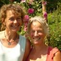 Theresia en juliette van Pluktuin Très Jolie